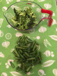 Bien couper les petites têtes des brocolis