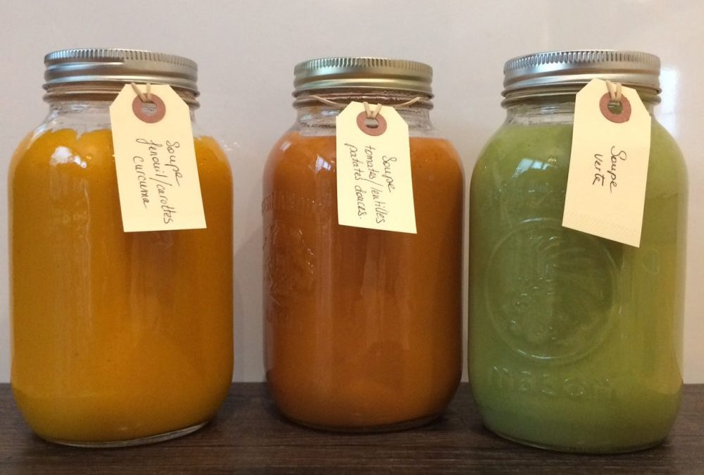 3 super soupes de Karine, notre nutrithérapeute!