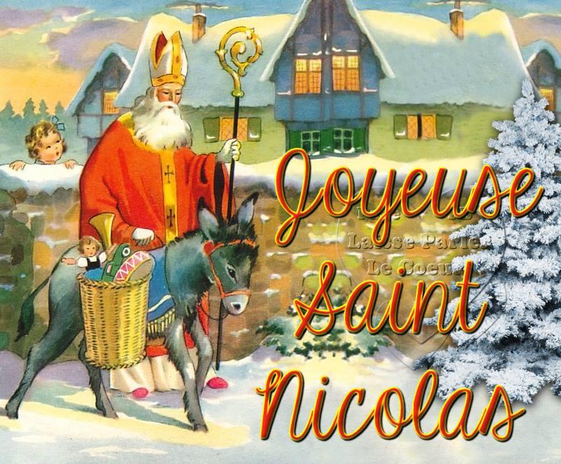 Faites rêver vos enfants avec Saint Nicolas le 6 décembre !