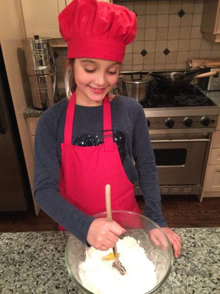 Préparation de la pâte brisée
