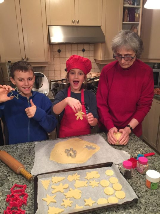 Produit des biscuits de Noël