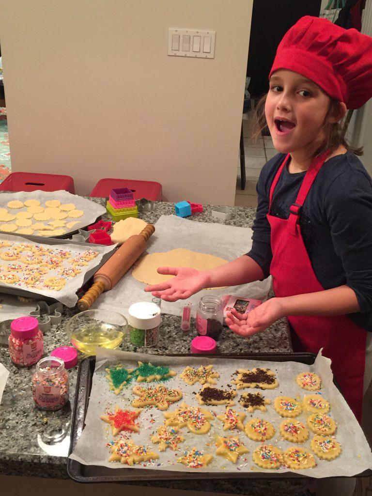 grosse production de biscuits