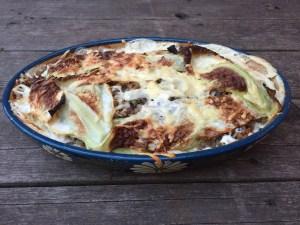 plat de lasagnes santé pour 6 à 8 boîtes à lunch