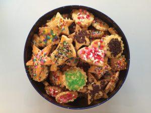 boîte de biscuits de Noël