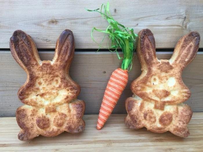 Lamele et les lapins de Pâques de Grand-maman
