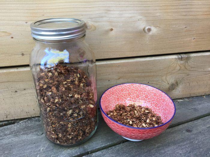 Les céréales santé d'Aurélie pour le petit-déjeuner