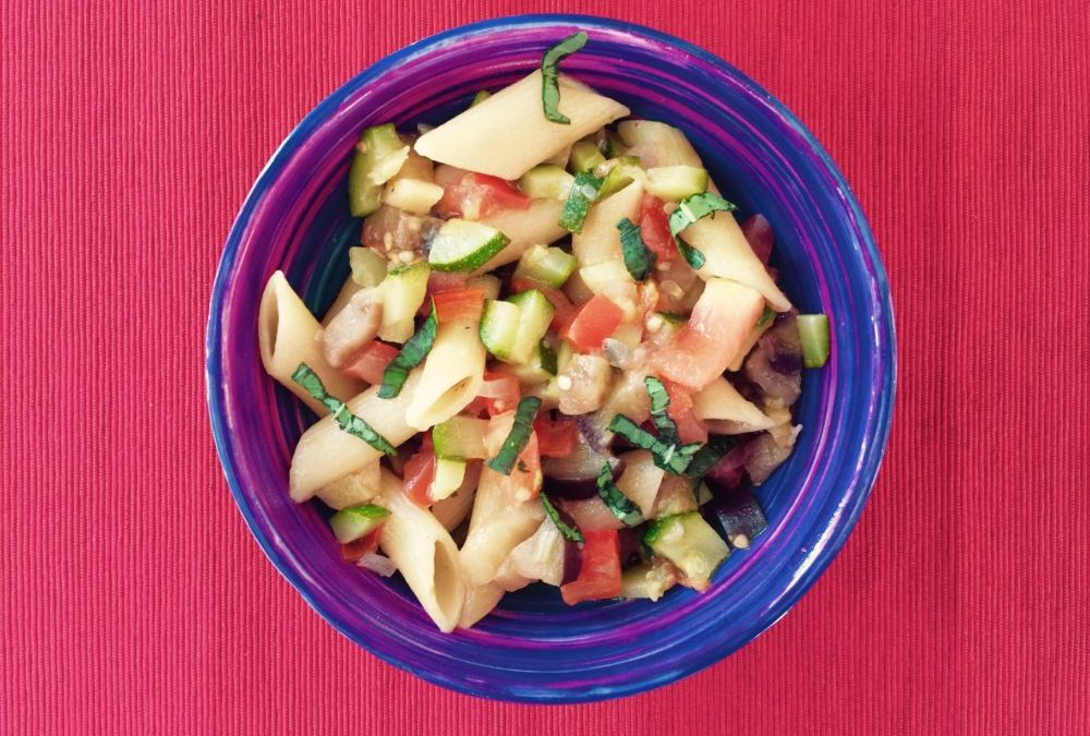 Casserole de pâtes & ses légumes de saison