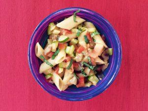 Casserole de pâtes & légumes de saison de Super Boîte à Lunch