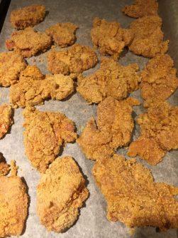 Nuggets sur papier sulfurisé pour Super Boîte à Lunch