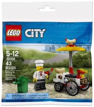 Le stand à Hot Dogs - Polybag Lego City 30356