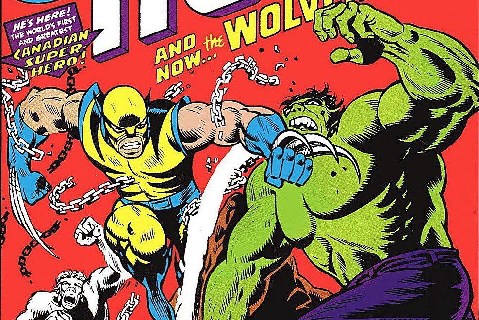 Portada del cómic 'The Incredible Hulk #181', primera aparición de Lobezno