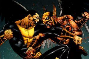 Black Adam Superman Hawkman