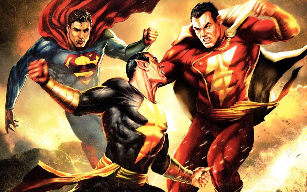 Black Adam V Superman