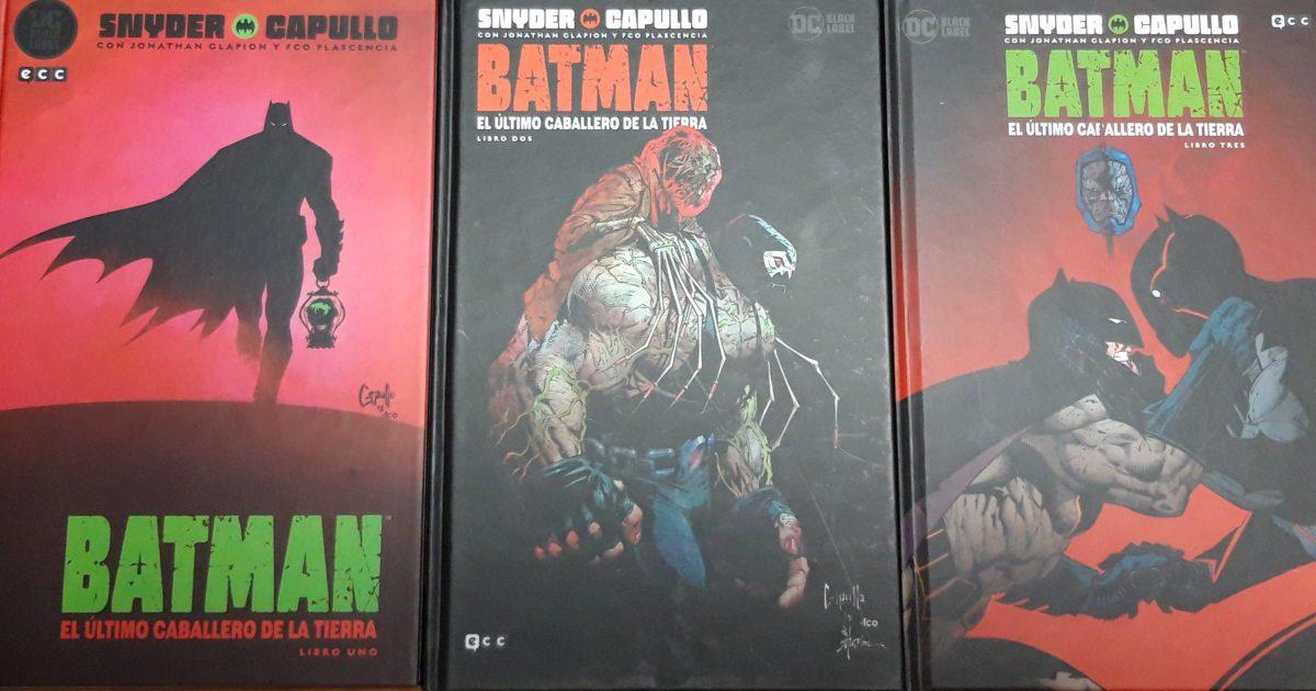 Portadas Batman el Último Caballero de la Tierra