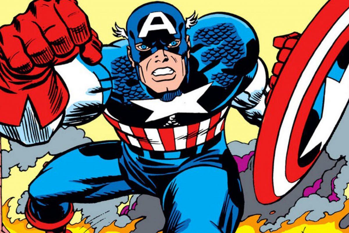 capitán américa falcon kirby bomba loca