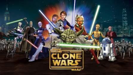 Póster de The Clone Wars de 2008