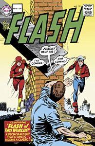 Portada de El Flash de dos mundos
