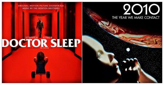 Doctor Sleep y 2010: Odisea Dos, pósters