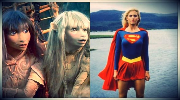 Póster de The Dark Crystal y Supergirl