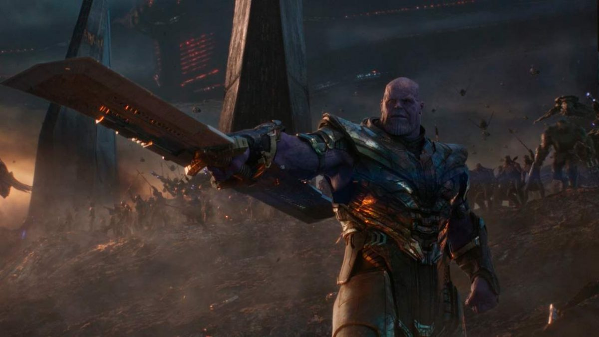 Thanos Marvel Studios