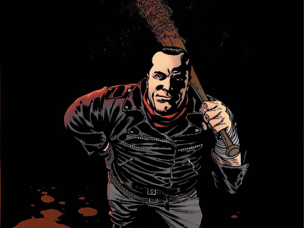 Kirkman Negan Walking Dead