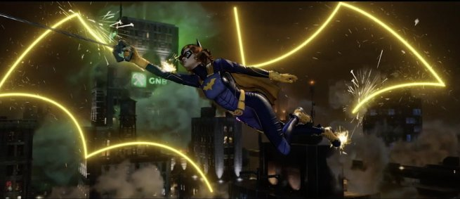 Batgirl Batman Gotham Knights
