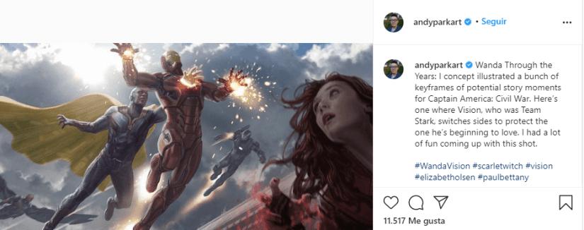 Civil War Vision Wanda