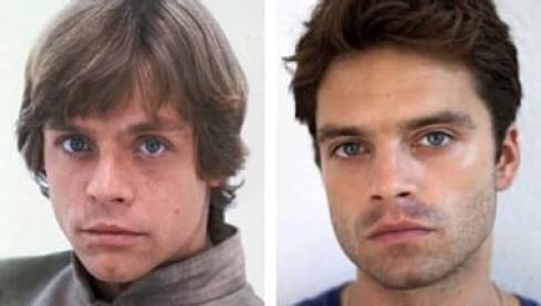 Así podría verse Sebastian Stan como Luke Skywalker