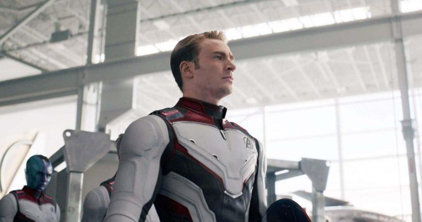 Steve Rogers traje cuántico