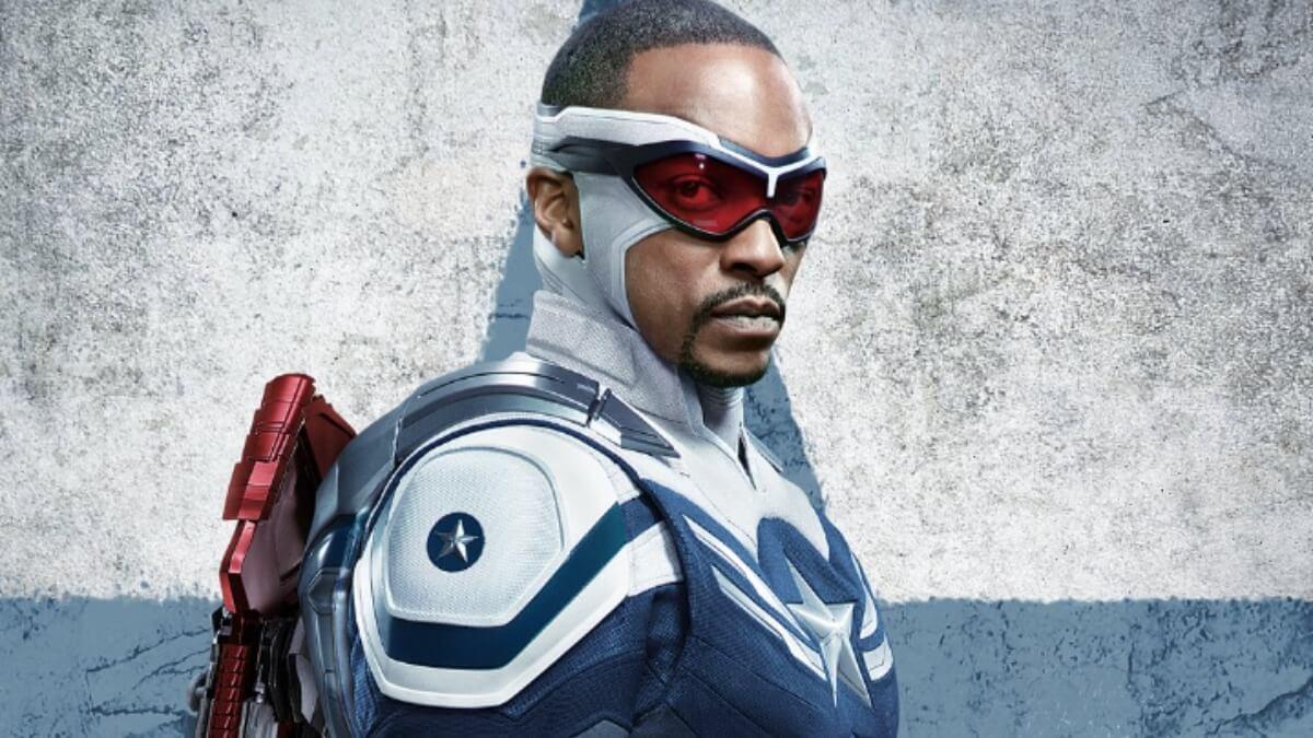 Anthony Mackie se enteró de que sería el Capitán América en un supermercado.
