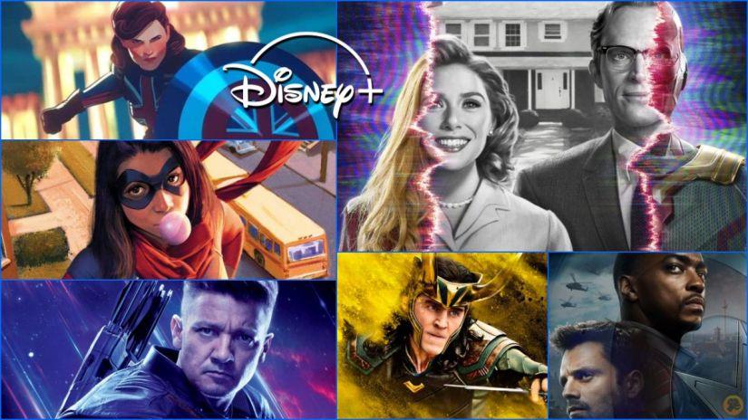 Series de Marvel Studios en Disney+