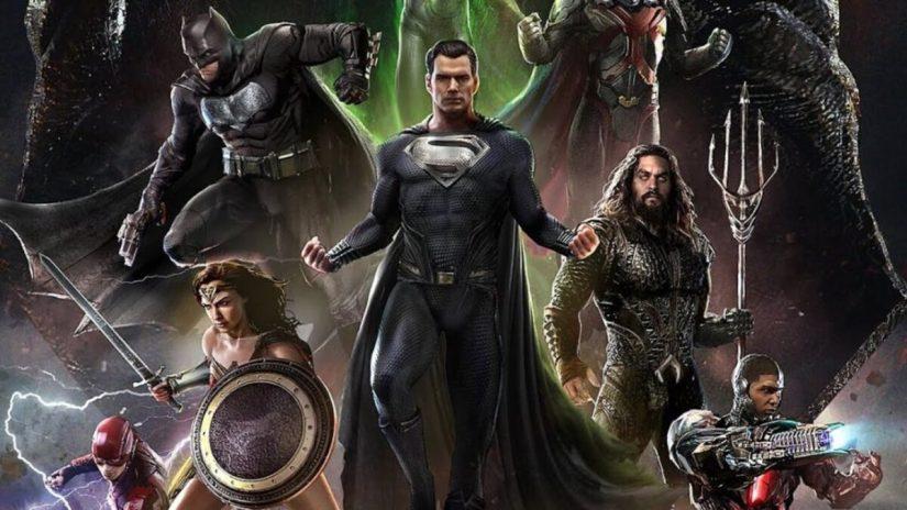Zack Snyder Justice League póster