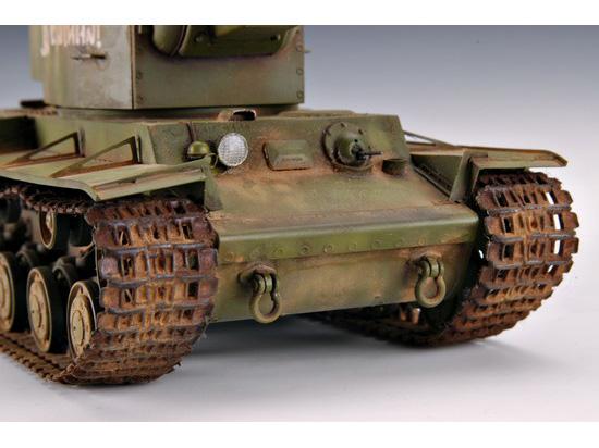 Maquette Trumpeter 00312 russia KV-2 Tank au 1/35