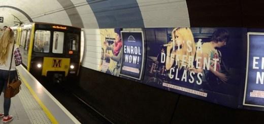 Реклама в метро Минска по выгодным ценам