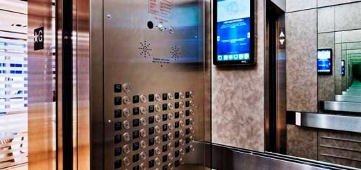 Реклама в лифтах Минска