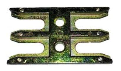 Window ventilation lock plate
