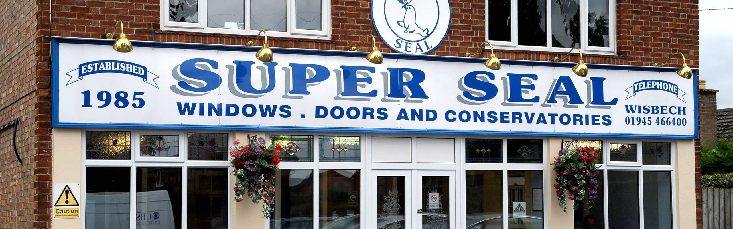 Super Seal showrooms Wisbech Cambridgeshire