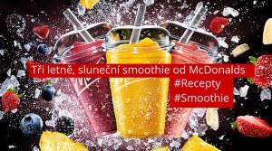 Tajemství tří letně, slunečních smoothie od McDonalds odhaleno