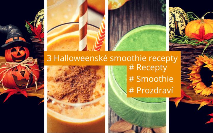 3 halloweenské smoothie recepty