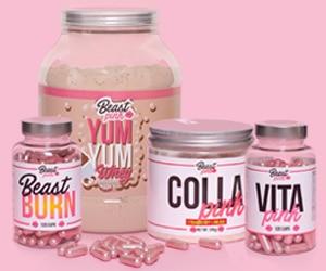 BeastPink – doplňky výživy pro ženy