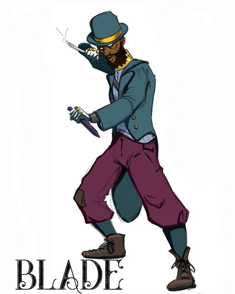 Marvel's Blade - Dan O'Brien Illustration