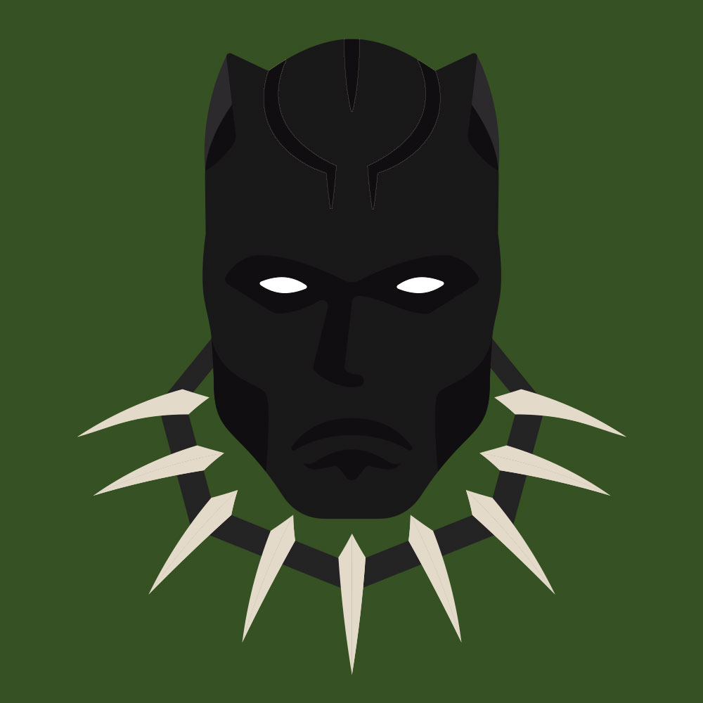 Black Panther - Super. Black.