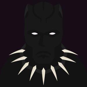 Black Panther Movie - Super. Black.