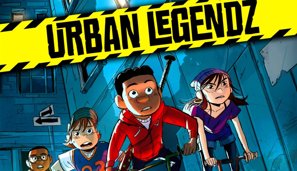 Super. Black. Reads. Urban Legendz