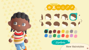 Animal Crossing: New Horizons finally adds hair for Black people: The Rows
