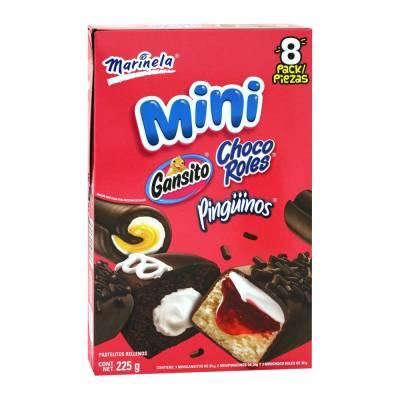 Pastelitos Marinela mini mix 8 pzas 225 g  Walmart