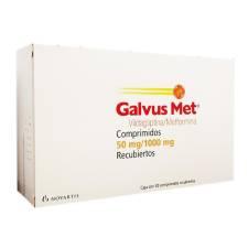 Galvus Met 50 mg/1000 mg 30 comprimidos recubiertos   Walmart