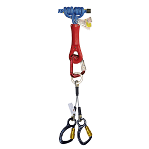 2-D Lanyards Captive Carabiner & Super Grab