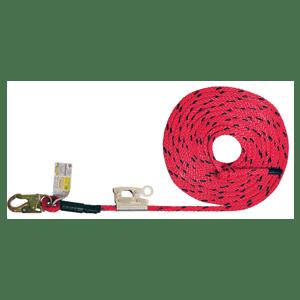 Deluxe Vertical Lifeline - Integral Adjuster Rope Grab Options