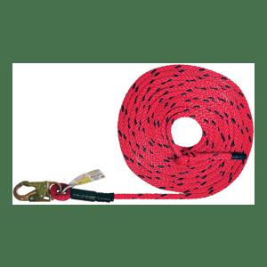 Deluxe Vertical Lifeline - No Rope Grab Options